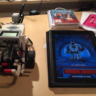 iPad trifft Lego Mindstorm EV3